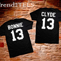 T-shirts Bonnie and Clyde