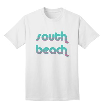 South Beach Color Scheme Design Adult T-Shirt by TooLoud