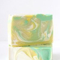 Lemon Eucalyptus Handcrafted Soap Bar