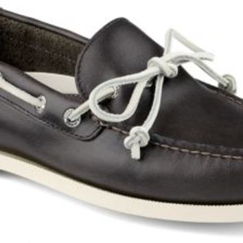 Sperry Top-Sider Authentic Original Cyclone 1-Eye Boat Shoe DarkGray, Size 7M  Men's