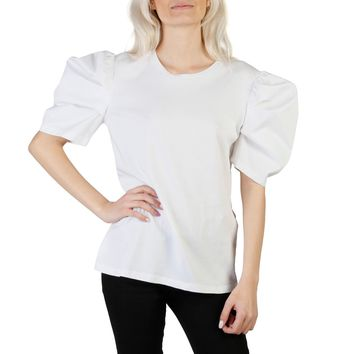 Imperial White Sleeves Short T-Shirt