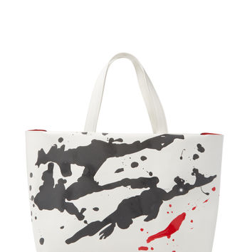 Furla Women's Vertigo Painted Large Tote - White