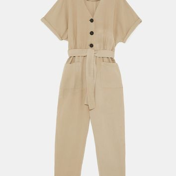 JUMPSUIT WITH BUTTONS DETAILS