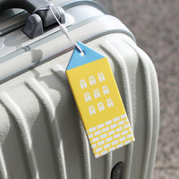 2NUL City travel luggage name tag