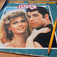 SALE Grease Original Soundtrack 12 inch 2 Disc Album by ZoeAmaris