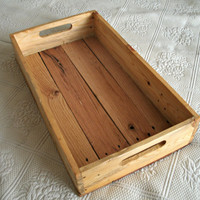 Reclaimed Pallet Wood Serving Tray