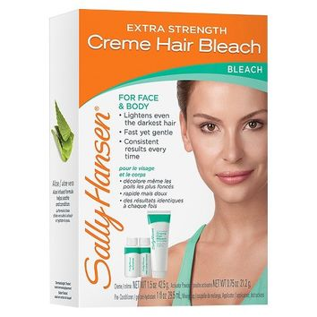 Sally Hansen Extra Strength Crème Hair Bleach - Face & Body