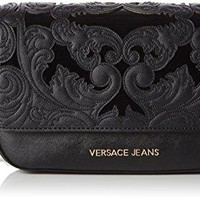 Versace EE1VOBBR4 EM57 Black Shoulder Bag