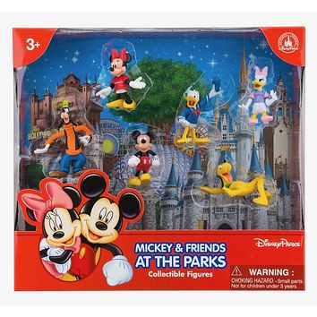 disney parks mickey and friends figure cake topper playset new with box