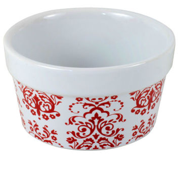 Celebrate It® Ceramic Ramekin, Damask