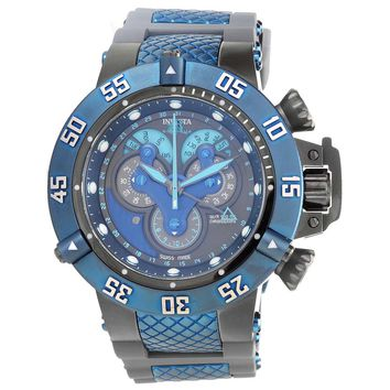 Invicta 18524 Men's Subaqua Noma III Gunmetal Dial Steel & Silicone Strap Chrono Dive Watch
