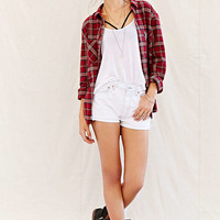 Urban Renewal Recycled Angled Roll-Hem Denim Short - Urban Outfitters