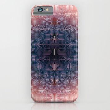 Crystal radial pattern iPhone & iPod Case by VanessaGF