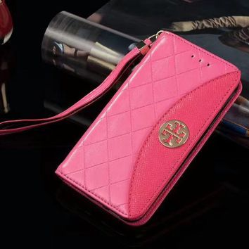 Tory Burch Phone Cover Case For Samsung s7edge s8 s8+ note 8 iphone 6 6s 6plus 6s-plus 7 7plus 8 8plus X-1