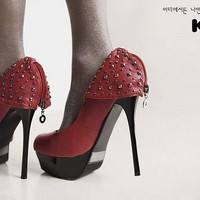 Characteristic singles shoes by milifashion on Sense of Fashion