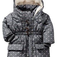 Hooded Toggle Coats for Baby