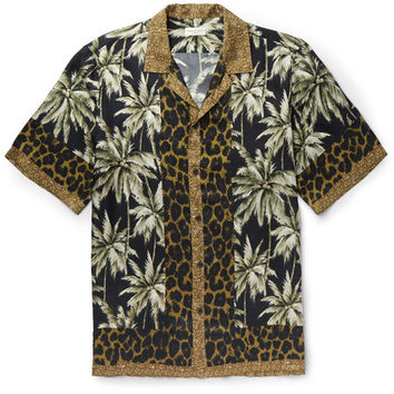 Dries Van Noten - Carlton Camp-Collar Printed Voile Shirt