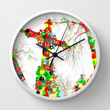 Society to the Grave! - Wall Clock by Hogan | Society6