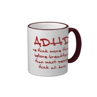 ADHD Think More Mugs