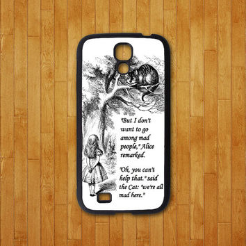 samsung galaxy s4 active case,Alice,Cat,samsung galaxy S4 mini case,samsung galaxy S4 case,S3 case,samsung galaxy note 3 case,note 2 case