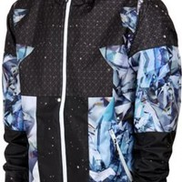 LRG Dark Crystal Windbreaker - black - Free Shipping