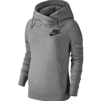 Nike Women's Rally Funnel Neck Hoodie