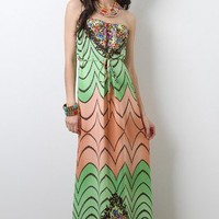 Cozumel Beauty Maxi Dress