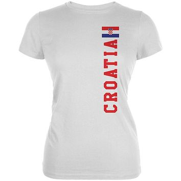 World Cup Croatia Juniors Soft T Shirt