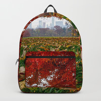 NYC Fall Leaves Backpack by audrey_ross