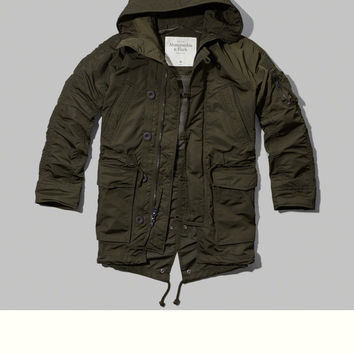 Rugged Nylon Parka