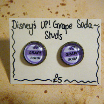 Disney's Up Cameo Stud Earrings (5 different options)