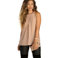 Taupe Chain Link Tank