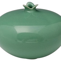 Clay Large Pomegrante, Green, Other Lifestyle Accessories