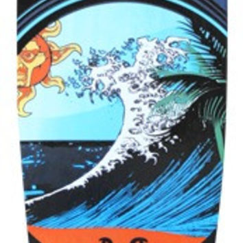 Punked Wave Pintail Longboard Complete 9.75x40