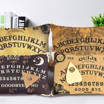 Ouija Board Back Pillows