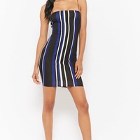Striped Bodycon Cami Dress