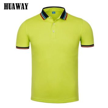 ONETOW Men clothing New polo Shirt Business Casual fashion solid color polo male Short Sleeve designer breathable top tee Homme Camisas