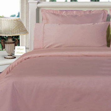 Lilac Twin XL Egyptian cotton Solid 3Pieces Alternative Comforter set