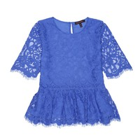 Bright Sapphire Lace Top by Juicy Couture,
