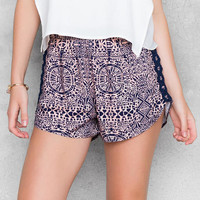Keva Printed Shorts
