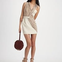 Alexander Wang - Draped Tailored Dress - Saks.com