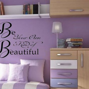 Be Your Own Kind of Beautiful , Wall Mural