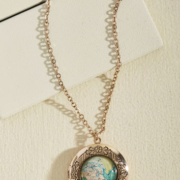 Map Out of It! Necklace