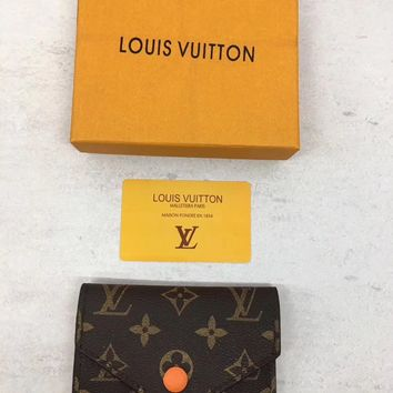 Louis Vuitton Monogram Leather Wallet