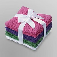 Essential Home 8-Pack Cotton Terry Washcloths