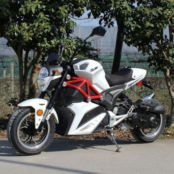 2017 Venom x21 50cc - Automatic Moped / Scooter (White)