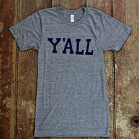Y'ALL T-shirt (Grey)