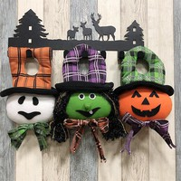 Halloween Decoration For Home Pumpkin Witch Specter Halloween Props Creative Cartoon Doll Festive Decor Halloween Party Supplies