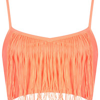 Fringe Bralet - Palm Springs - Clothing - Topshop USA