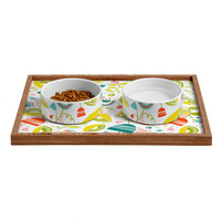Heather Dutton Penelope Pet Bowl and Tray